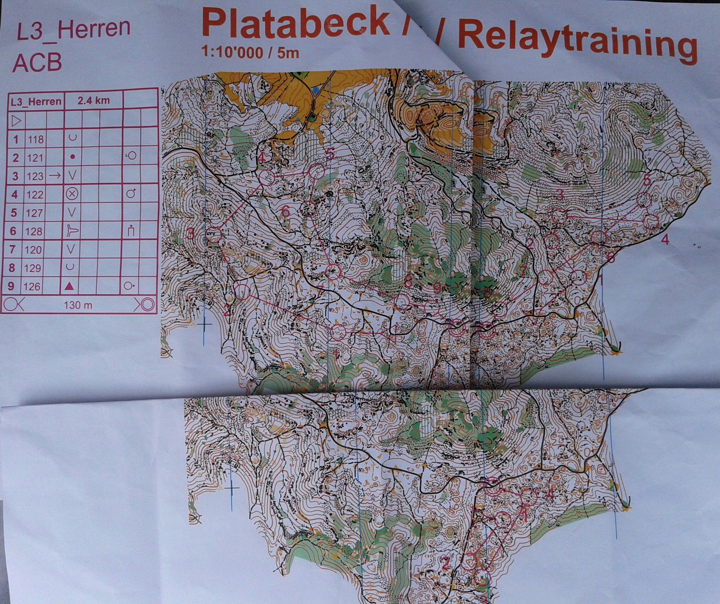 Relay training (21/05/2014)